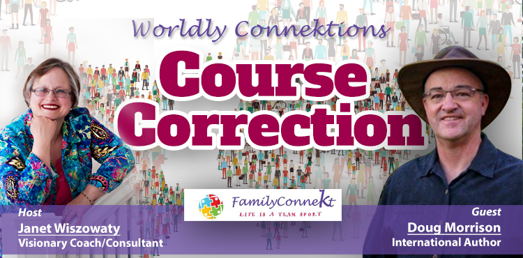Course Correction - Worldly Connektions Episode 29 Cover