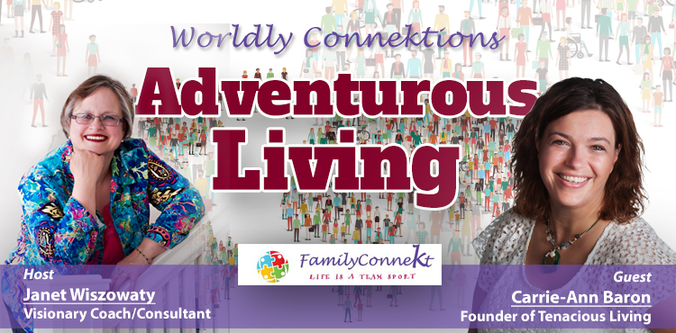 Adventurous Living -Worldly Connektions Episode 31 Cover