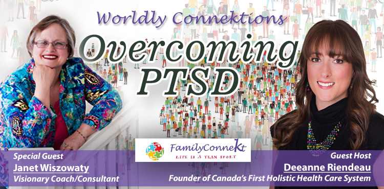 Overcoming PTSD - Worldly Connektions Episode 1 Cover