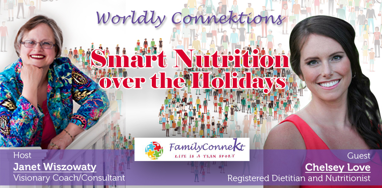 Smart Nutrition Over The Holidays -Worldly Connektions Ep 40 cover