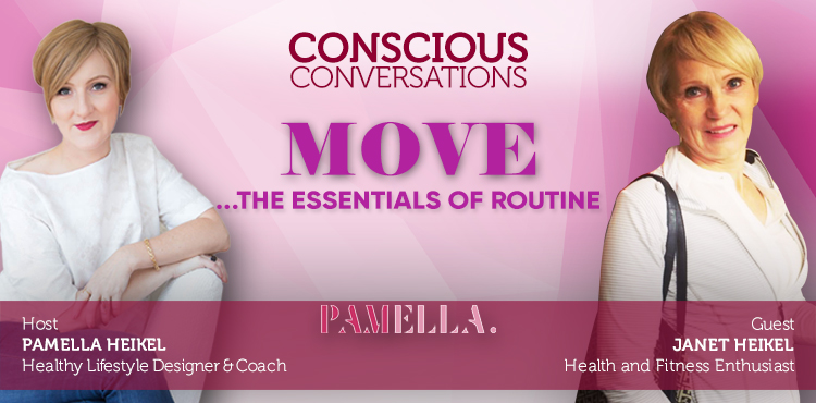 MOVE: The Essentials of Routine - Conscious Conversation Ep 12 - TLN Cover