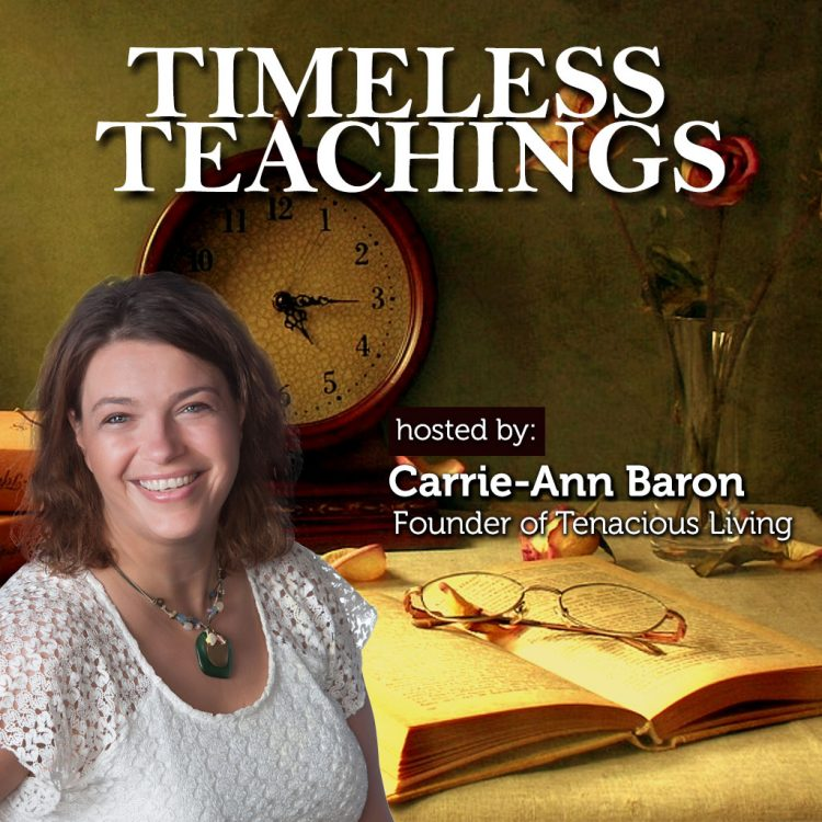 Timeless Teachings Vault - Carrie-Ann Baron Podcasts- TLR Station Cover