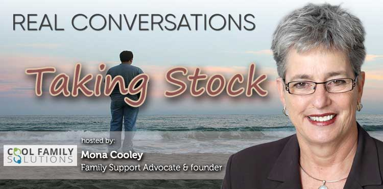 Taking Stock - Real Conversations with Mona Cooley Ep 03 - TLN Cover