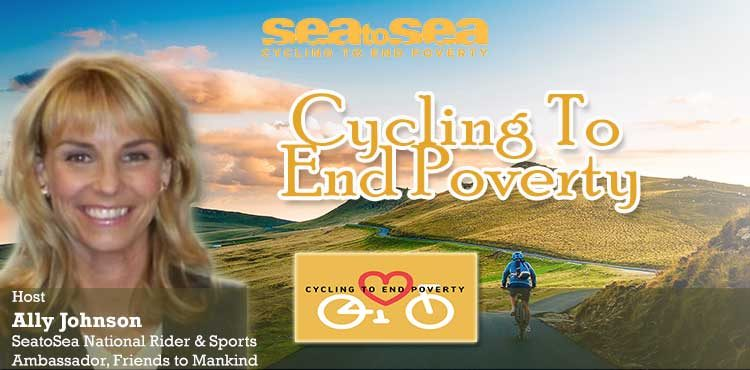 Sea To Sea Cycling To End Poverty by Ally Johnson Announcement