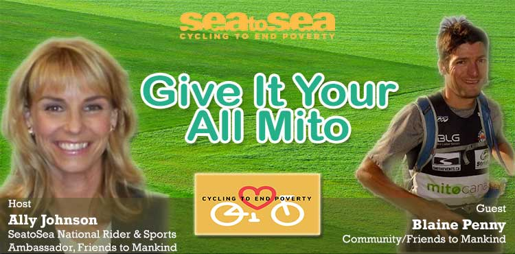 Give It Your All Mito - Friends To Mankind with Ally Johnson Ep 05 - Tenacious Living Network
