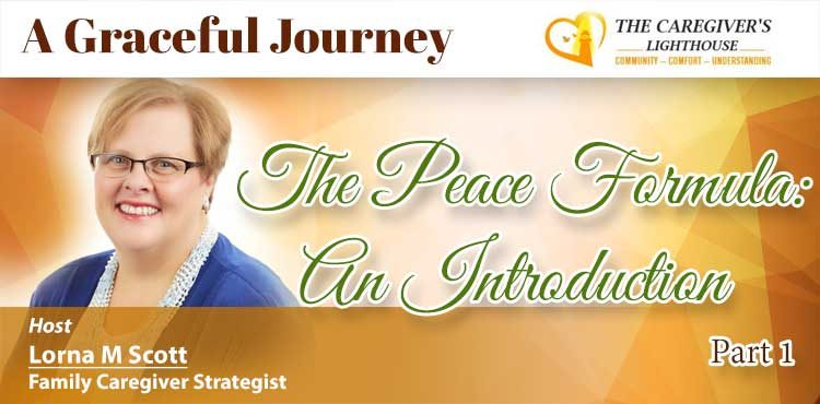 The Peace Formula : An Introduction - A Graceful Journey Ep 03 - Tenacious Living Network Blog Cover