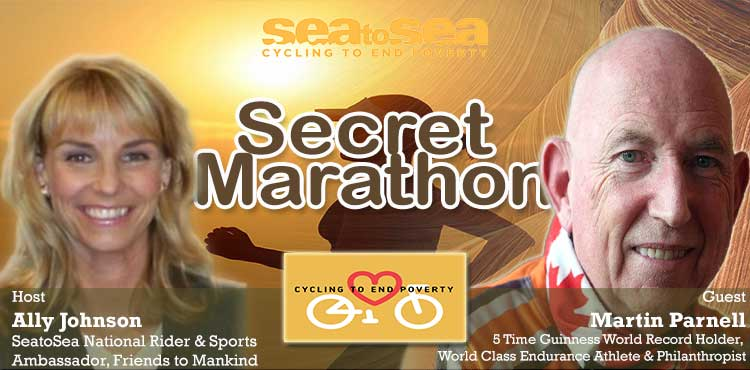 Secret Marathon - Friend to Mankind with Ally Johnson Ep 06 - Tenacious Living Network Your Holistic Health Podcast Directory Blog Cover