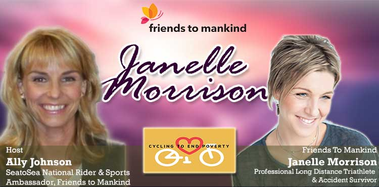 Friends To Mankind - Janelle Morrison - Interview Hosted By Ally Johnson blog cover