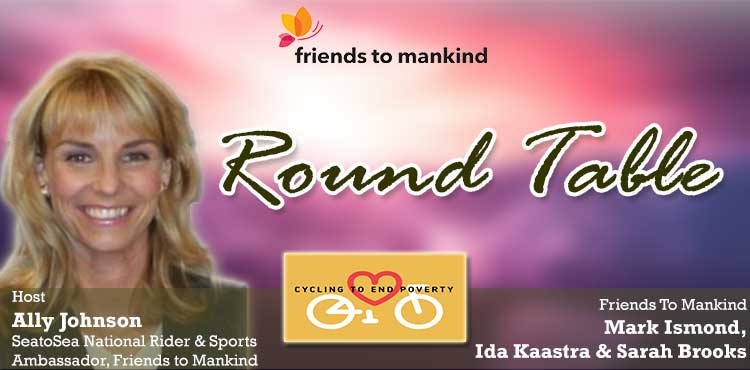 Round Table - Friends To Mankind with Ally Johnson Episode - TLN Blog Cover