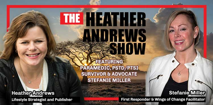 Stefanie Miller - Ep 16 - The Heather Andrews Show - TL Network Blog Cover