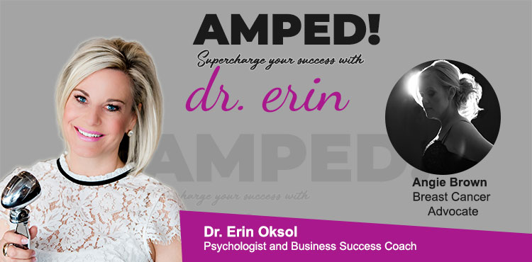 Elevated by Grace Ep 06 - Amped! with Dr. Erin Blog Cover - Angie Brown